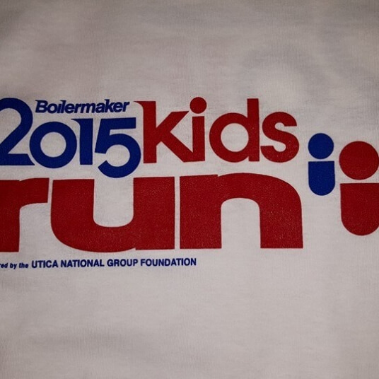 2015 kids run t shirt
