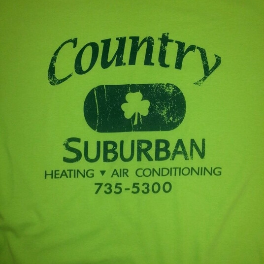 green country suburban t shirt